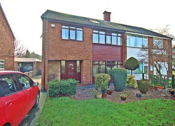 Thumbnail 4 bed semi-detached house for sale in Manston Lane, Crossgates, Leeds
