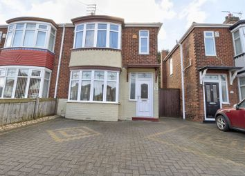 Thumbnail 3 bed semi-detached house for sale in Fernwood Avenue, Hartlepool