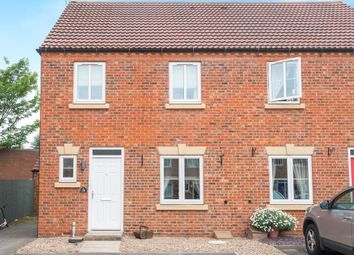 Thumbnail 3 bed semi-detached house for sale in Kensington Way, Worksop