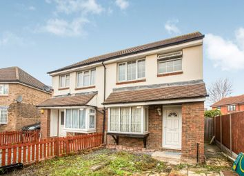 Thumbnail 3 bed semi-detached house for sale in Vanbrugh Close, London