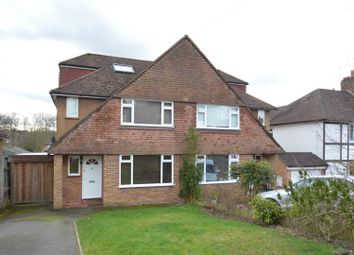 Thumbnail 4 bed semi-detached house for sale in Farmcombe Road, Tunbridge Wells