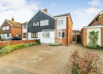 Thumbnail 3 bed semi-detached house for sale in Norman Road, Barton-Le-Clay, Bedford