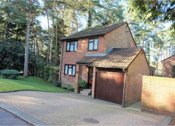 Thumbnail 3 bed detached house for sale in Woodpecker Close, Bordon