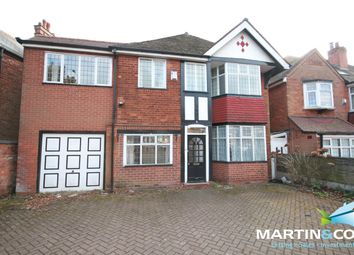 Thumbnail 5 bed detached house to rent in Court Oak Road, Harborne