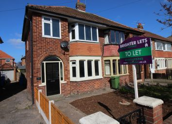Thumbnail 3 bed end terrace house to rent in Ascot Road, Thornton-Cleveleys