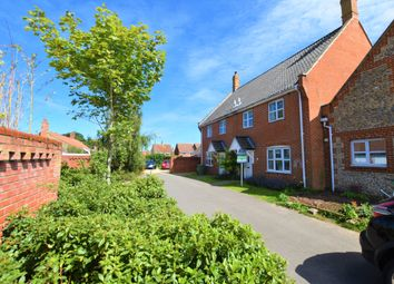 Thumbnail 3 bed town house for sale in Emerys Close, Northrepps, Cromer