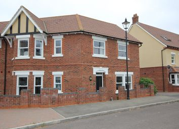 Thumbnail 4 bed semi-detached house for sale in Hebbes Close, Kempston, Bedford