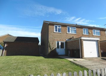 Thumbnail 3 bed end terrace house to rent in Heather Close, Eastbourne