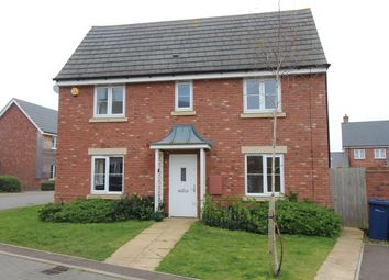 Thumbnail 3 bed detached house to rent in Cowslip Drive, Bishops Cleeve, Gloucestershire