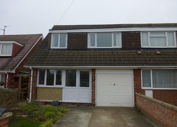 Thumbnail 3 bed property to rent in Denton Road, Stanground, Peterborough