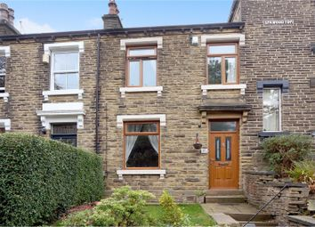 Thumbnail 3 bed terraced house for sale in Spa Wood Top, Huddersfield