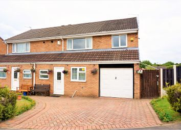 Thumbnail 4 bedroom semi-detached house for sale in Harwood Drive, Sheffield
