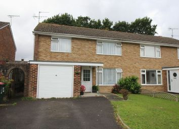 Thumbnail 3 bed semi-detached house for sale in Greenacres, Crawley