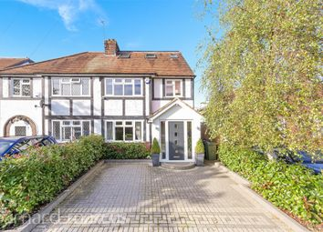 Thumbnail Semi-detached house for sale in Pams Way, Ewell, Epsom