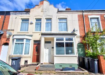 Thumbnail 2 bedroom terraced house for sale in Hawkesbury Road, Leicester