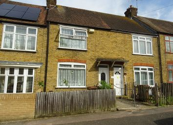 Thumbnail 2 bed terraced house for sale in Fourth Avenue, Gillingham, Kent.