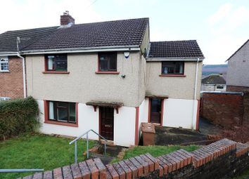 Thumbnail 4 bed end terrace house for sale in Danygraig, Pontlottyn, Bargoed