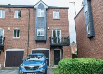 Thumbnail 3 bed end terrace house for sale in Anson Close, Grantham