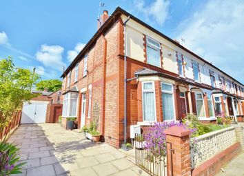 Thumbnail 3 bed terraced house for sale in Ashbourne Road, Eccles, Manchester