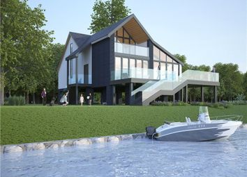 Thumbnail Land for sale in The Island, Wraysbury, Staines-Upon-Thames