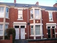 Thumbnail 1 bedroom flat to rent in Warton Terrace, Heaton, Newcastle Upon Tyne