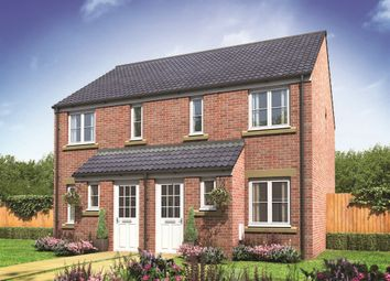 "Thumbnail 2 bedroom semi-detached house for sale in ""The Alnwick"" at Ixworth Road, Thurston, Bury St. Edmunds"
