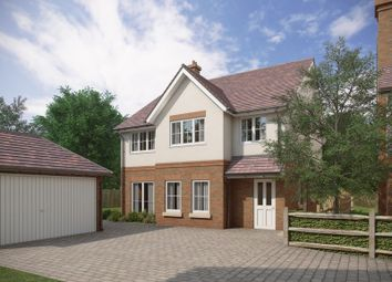 Thumbnail 4 bedroom detached house for sale in Warnford Road, Corhampton, Southampton