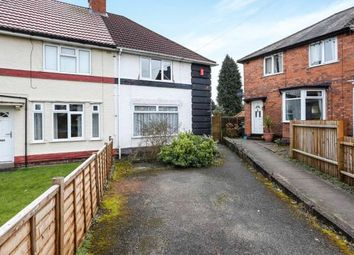 Thumbnail 3 bed end terrace house for sale in Selborne Grove, Billesley, Birmingham, West Midlands