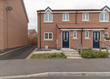 Thumbnail 3 bed semi-detached house for sale in Doctor Wright Close, Markfield, Leicester