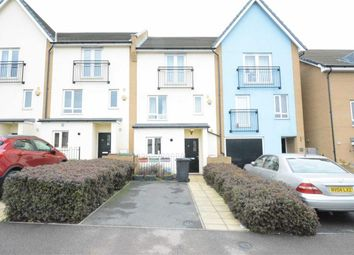 Thumbnail 5 bed town house to rent in The Rookery, West Thurrock, Essex