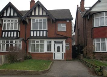 Thumbnail 4 bed semi-detached house for sale in Somerset Road, Handsworth Wood