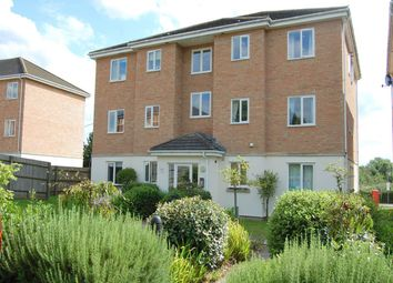 Thumbnail 2 bed flat to rent in Jubilee Court, Clerewater Place, Thatcham
