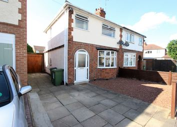 Thumbnail 3 bedroom semi-detached house for sale in Colbert Drive, Leicester