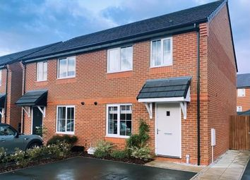 Thumbnail 3 bed semi-detached house for sale in West Lodge Road, Whittingham, Preston, Lancashire