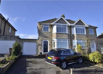 Thumbnail 2 bed semi-detached house for sale in Rowacres, Bath, Somerset