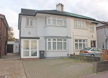 Thumbnail 5 bedroom semi-detached house for sale in Clayhall, Ilford