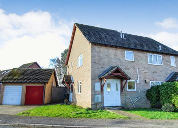 Thumbnail 1 bed semi-detached house for sale in Medway Close, Thatcham