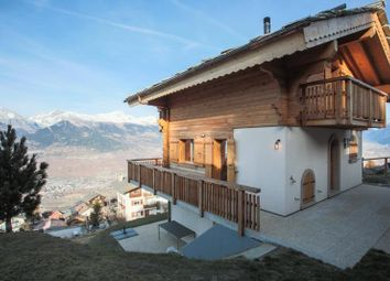 Thumbnail 4 bed property for sale in Chalet With Views, Veysonnaz, Valais