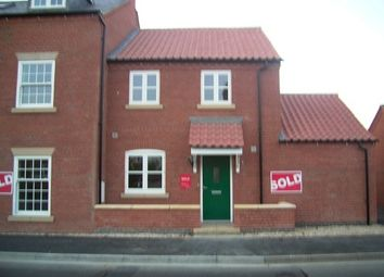 Thumbnail 2 bed town house to rent in Bardney Road, Wragby