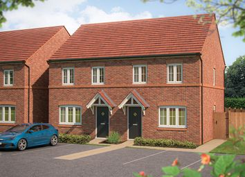 "Thumbnail 3 bedroom semi-detached house for sale in ""The Magnolia"" at Marsh Lane, Nantwich"