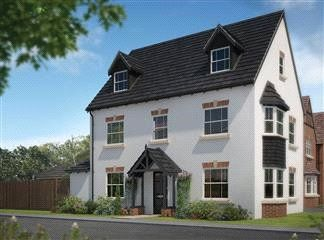 Thumbnail 5 bed detached house for sale in Cherry Tree Park, Ombersley Road, Worcester