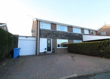Thumbnail 3 bed semi-detached house for sale in Twizell Place, Ponteland, Newcastle Upon Tyne, Northumberland
