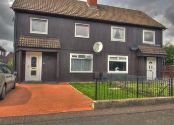 Thumbnail 3 bed semi-detached house for sale in Calderburn Road, Polbeth, West Calder