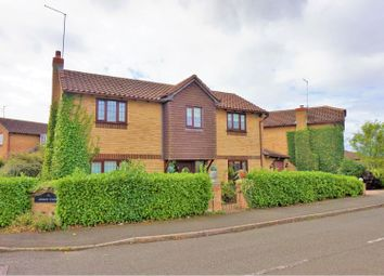 Thumbnail 3 bedroom detached house for sale in Alsace Close, Duston, Northampton