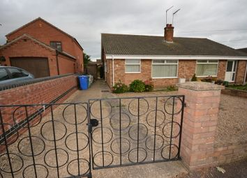 Thumbnail 2 bed semi-detached bungalow to rent in Moyes Road, Oulton Broad, Lowestoft, Suffolk