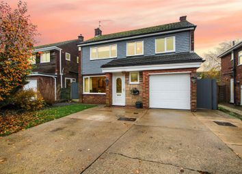 Thumbnail 3 bed detached house for sale in Holme Drive, Burton-Upon-Stather, Scunthorpe