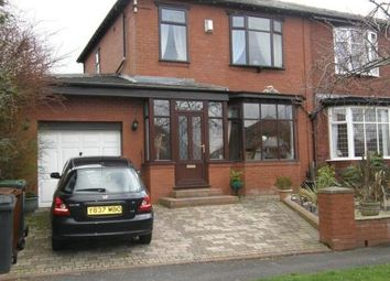 Thumbnail 3 bed semi-detached house to rent in Meadow Lane, Oldham