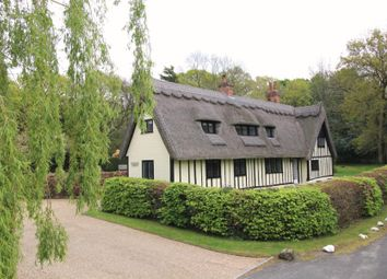 Thumbnail 5 bed equestrian property for sale in Heath Road, Little Braxted, Witham, Essex