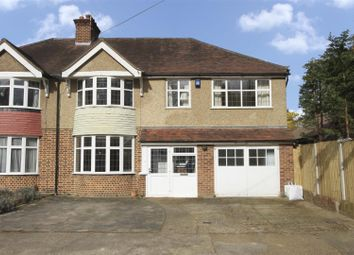 Thumbnail 4 bed semi-detached house for sale in Grove Close, Ickenham