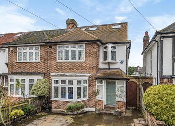 Thumbnail 4 bed end terrace house for sale in Cardinal Avenue, Kingston Upon Thames